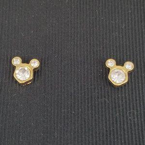 Disney Designs Mickey Stud Earrings NIB
